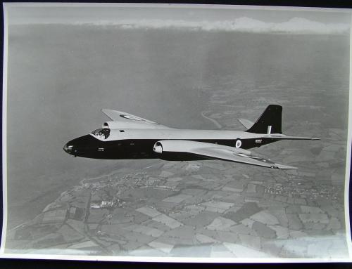 RAF Olympus Canberra Photograph
