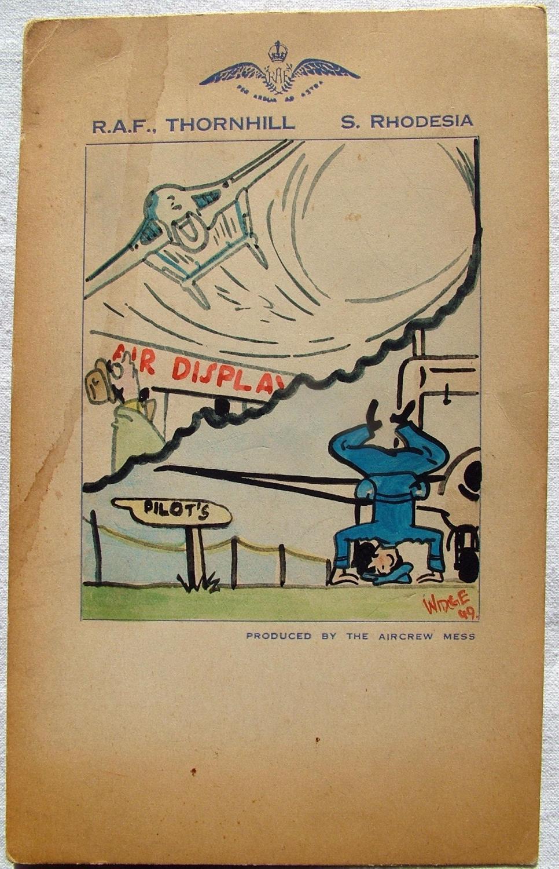 RAF Thornhill - Original Artwork / Card