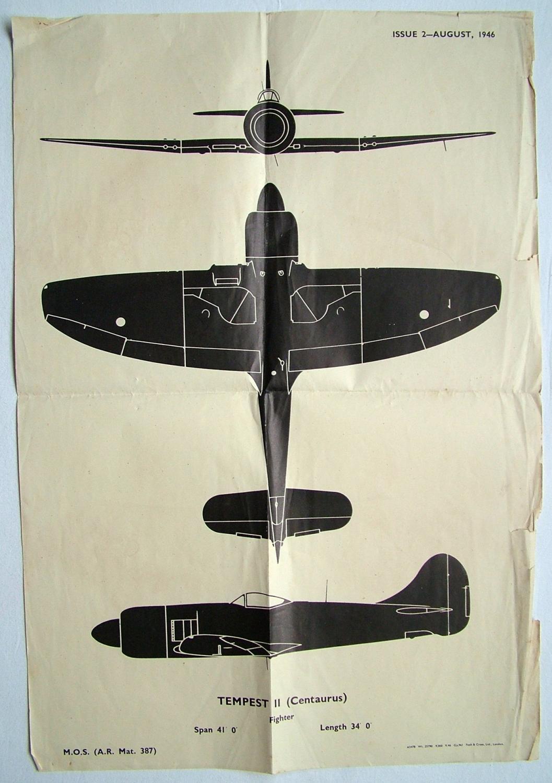 RAF Recognition Poster - Tempest