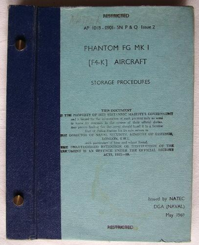 RAF Phantom FG MK.1 (F4-K) Manual