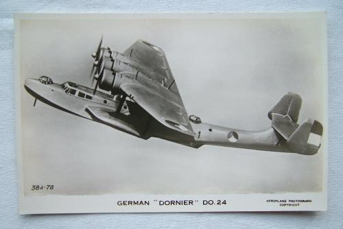WW2 Postcard  - Dornier Do24