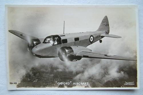 WW2 Postcard  - Airspeed Oxford