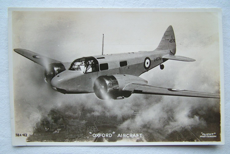 WW2 Postcard  - Airspeed Oxford