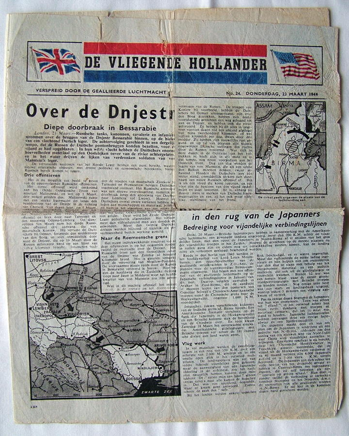 WW2 Air Dropped Leaflet