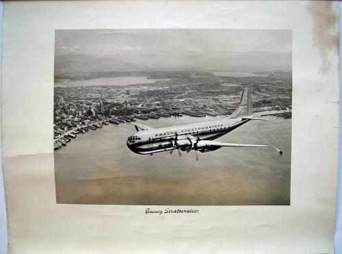 Official Boeing Stratocruiser Photo