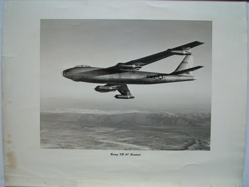 Official Boeing XB-47 Stratojet Photo