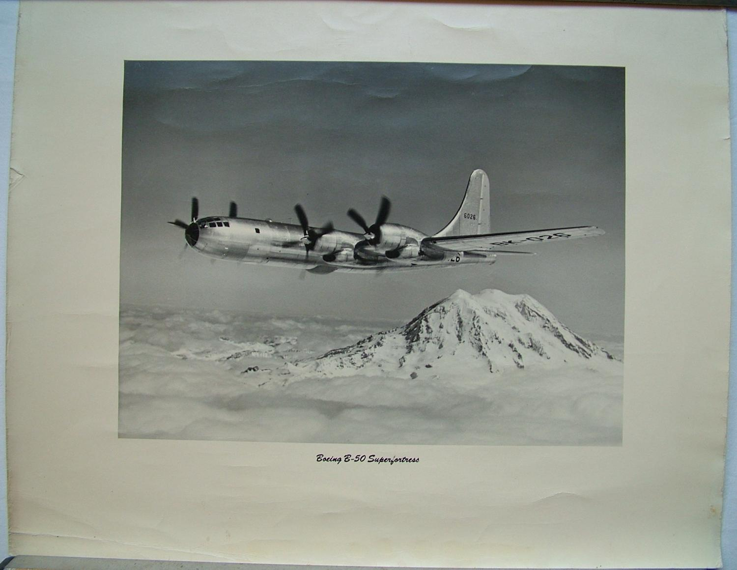 Official Boeing B-50 Superfortress Photo