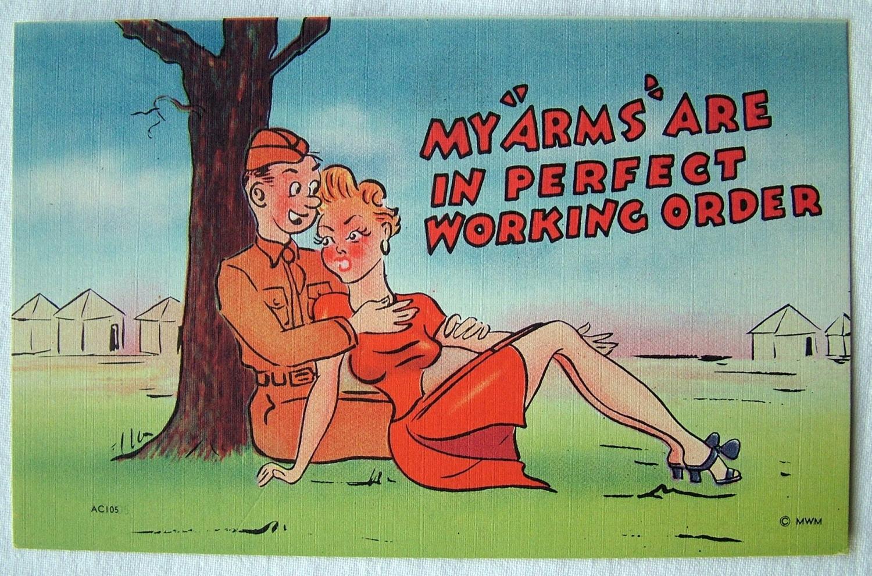 WW2 American Postcard