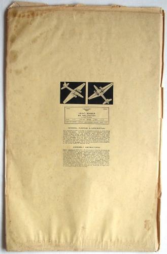 USAAF Recognition Model Kit - Wellington