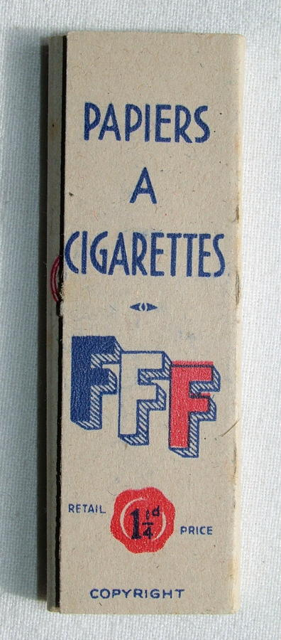 Free French Forces Cigarette Papers