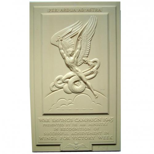 RAF Wings For Victory Plaque