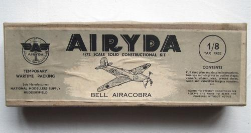 WW2 Wooden Aircraft Kit - Airacobra