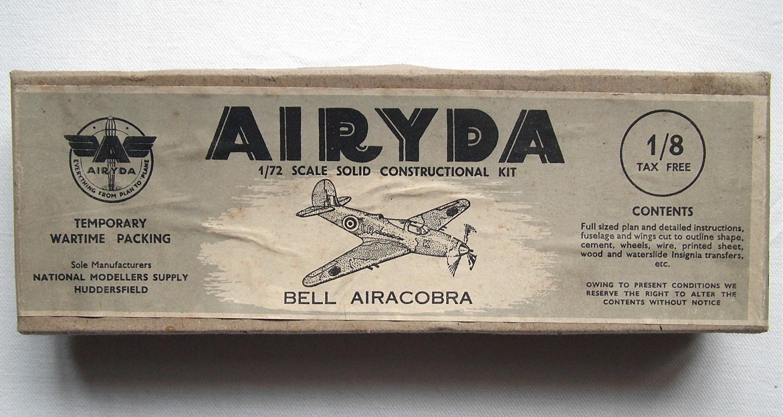 WW2 Wooden Aircraft Kit - Airacobra