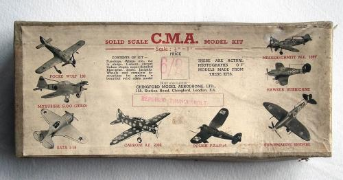 WW2 Wooden Aircraft Kit - Thunderbolt