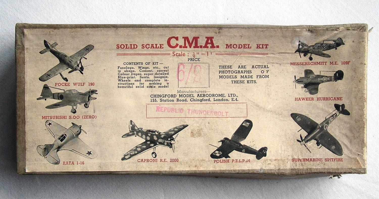 Ww2 Wooden Aircraft Kit Thunderbolt In Miscellaneous General