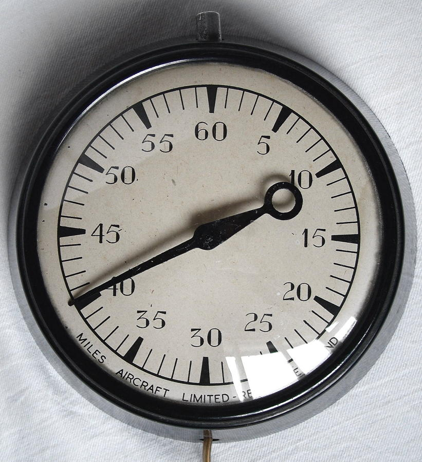 Miles Aircraft Limited Wall Clock/Timer