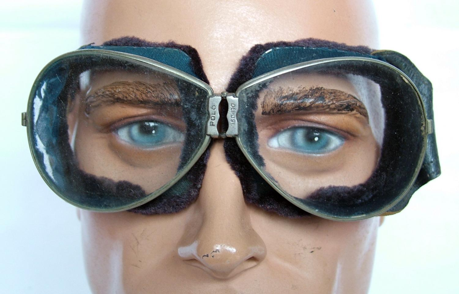1920s / 30s French Flying Goggles