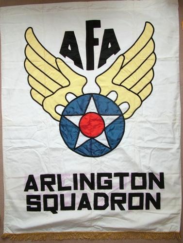 US AFA Arlington Squadron Banner