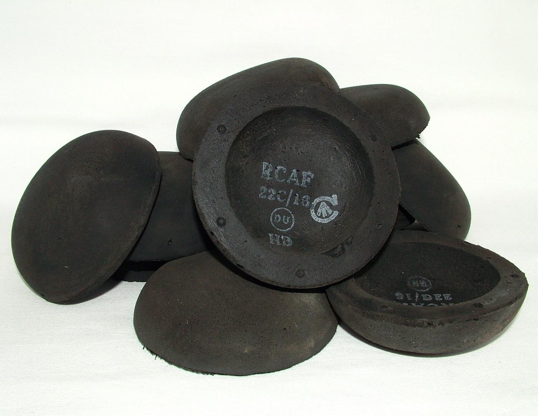 RCAF /RAF Flying Helmet Cushions, Black