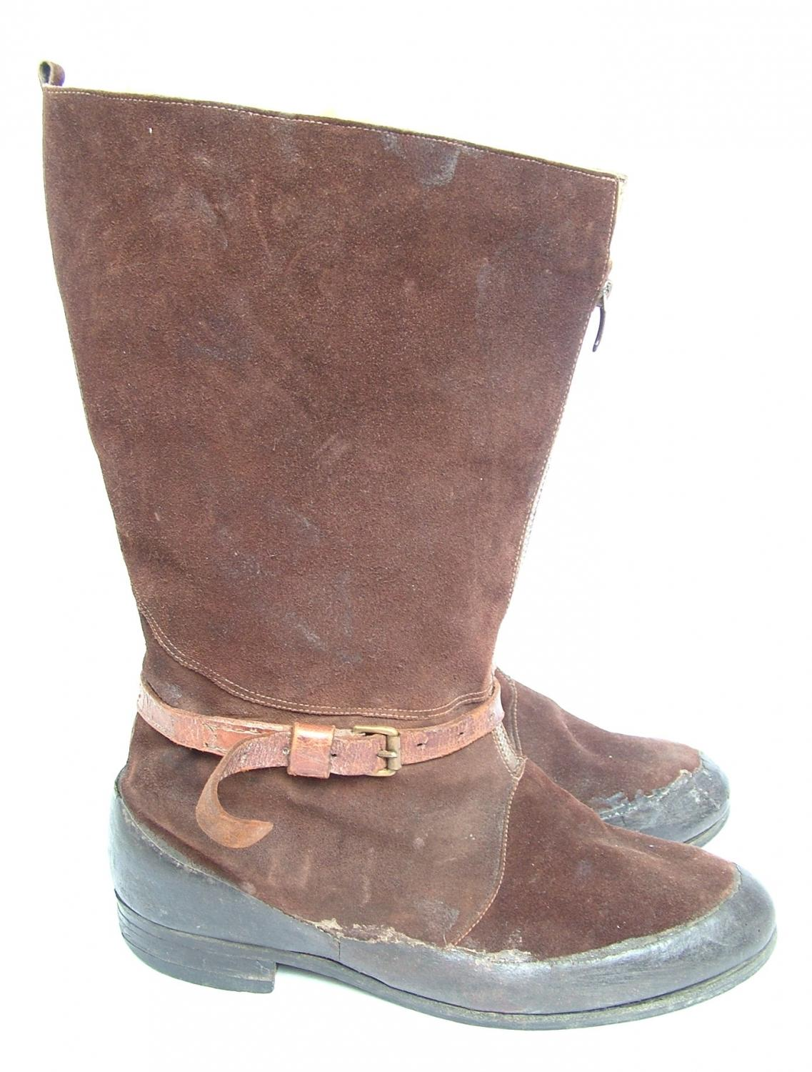 RAF 1941 Pattern Flying Boots