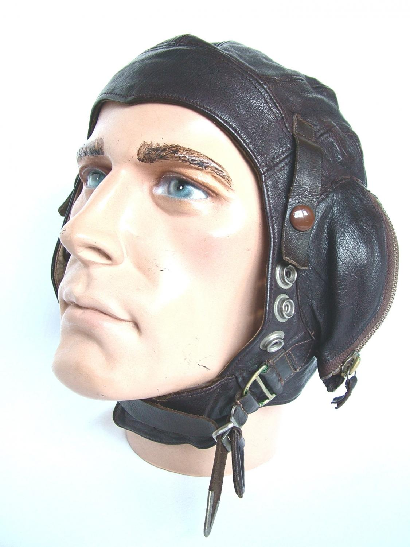 RN / FAA C-type Flying Helmet - Early Patt.