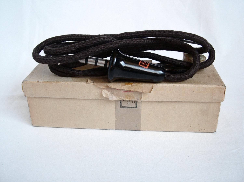 USAAF T-44 Microphone / Wiring Loom, Boxed
