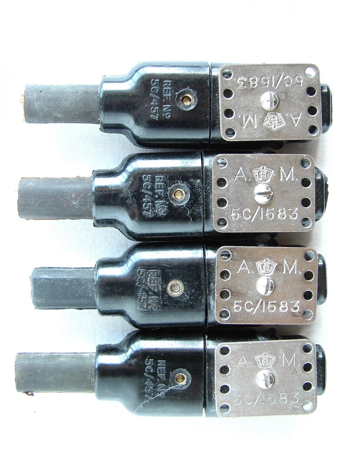 RAF / RAE Electrically Wired Clothing Plugs