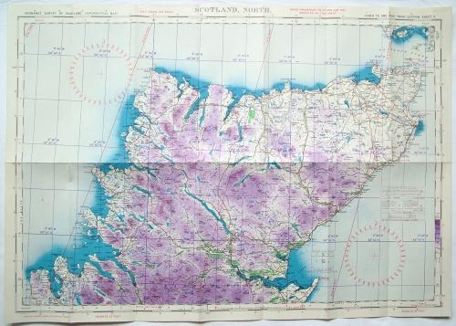 RAF Flight Map - Scotland (N)