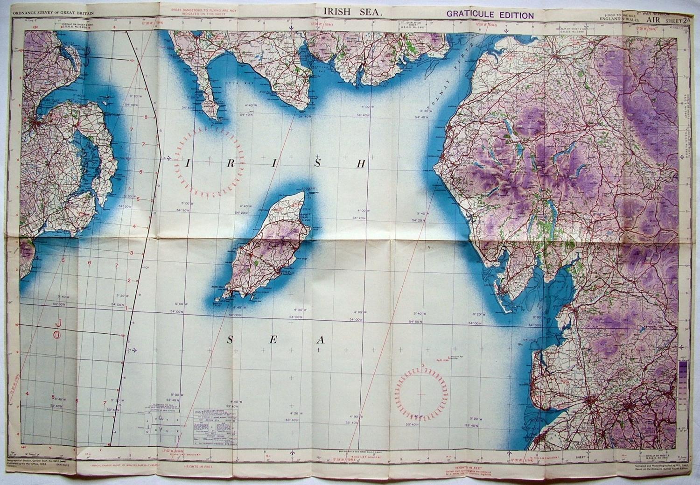RAF Flight Map - Irish Sea