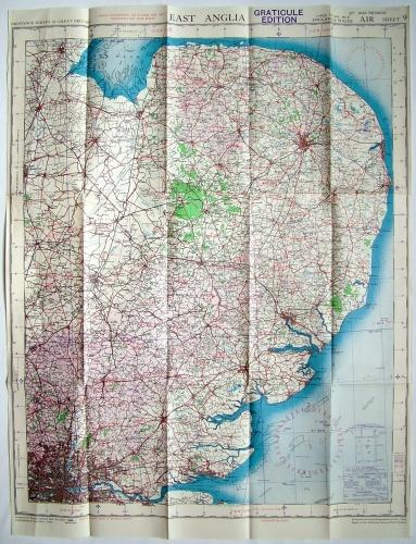RAF Flight Map - East Anglia