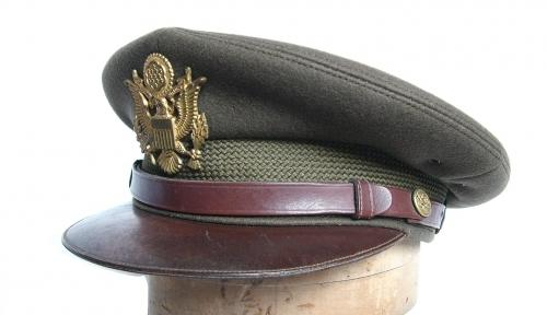 USAAF Officers' 'Chocolate' Visor Cap