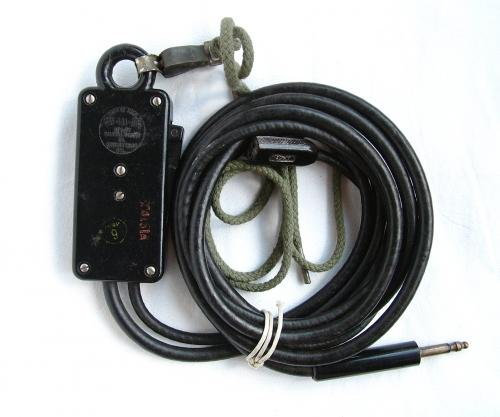 USAAF Throatmicrophone Extension Cord CD-318A