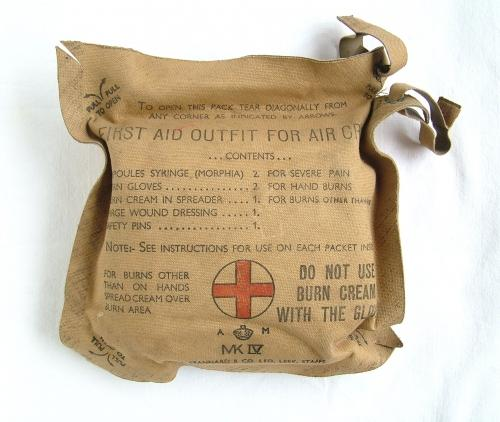 RAF First Aid Outfit For Aircrews, MK.IV