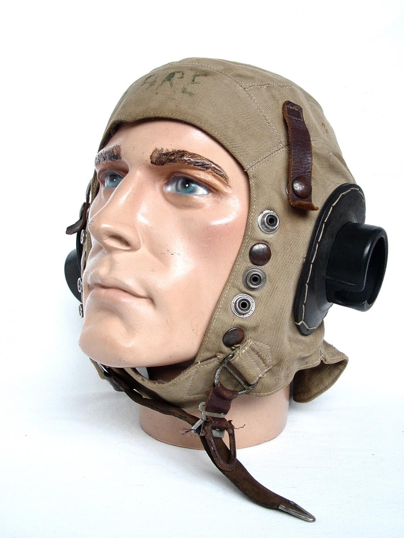 RAF D-type Flying Helmet - Early Patt.