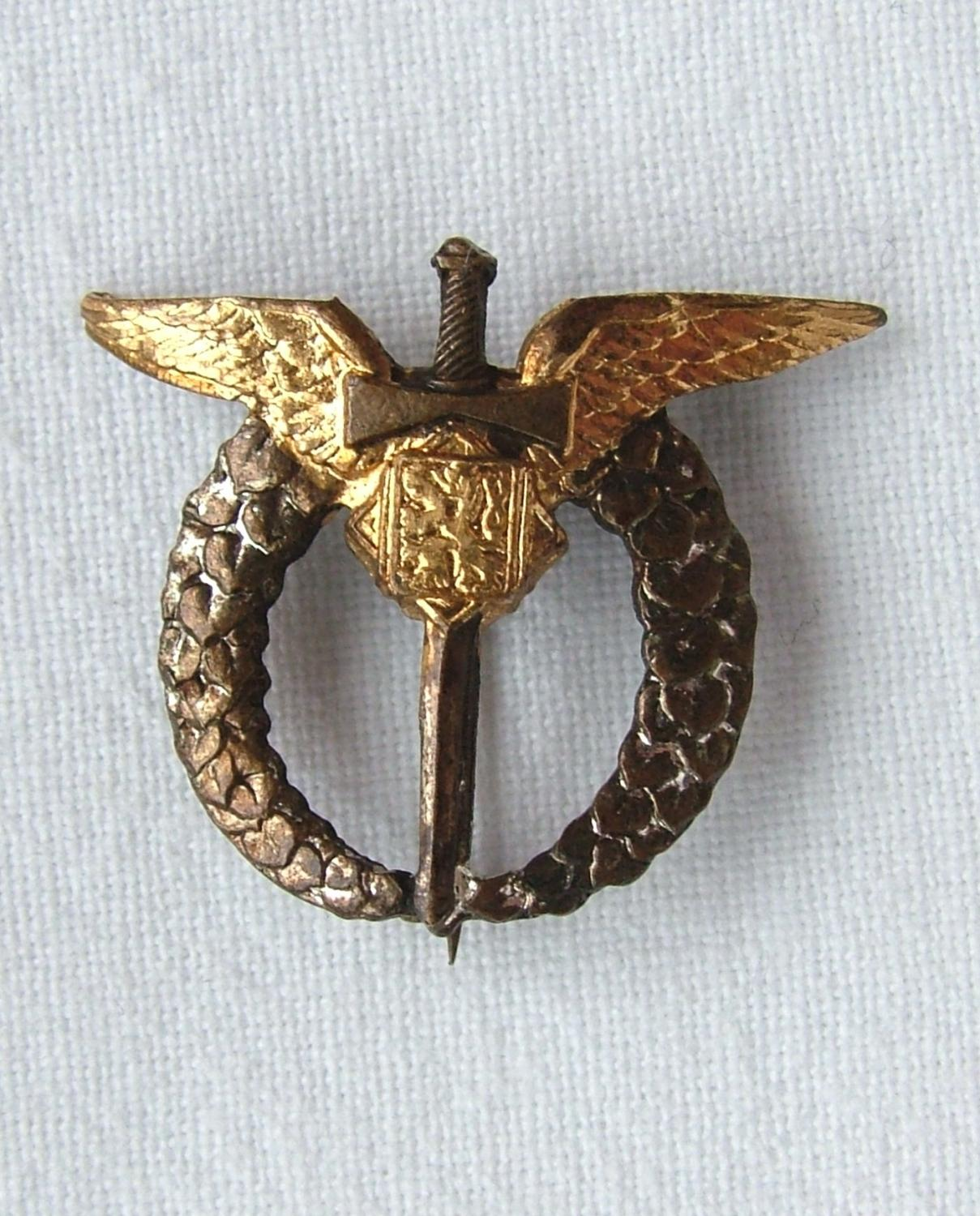 Czechoslovakian Pilot's Badge - Miniature