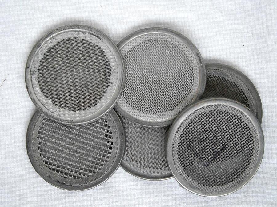 RAF G-type Oxygen Mask Gauze Plates