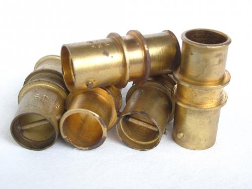 RAF Oxygen Tube Bayonet Connectors