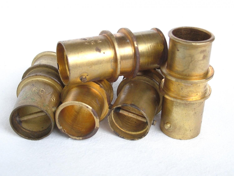 RAF Oxygen Tube Bayonet Connectors