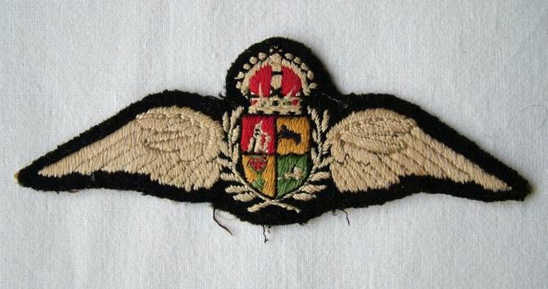S.A.A.F. Pilot Wing