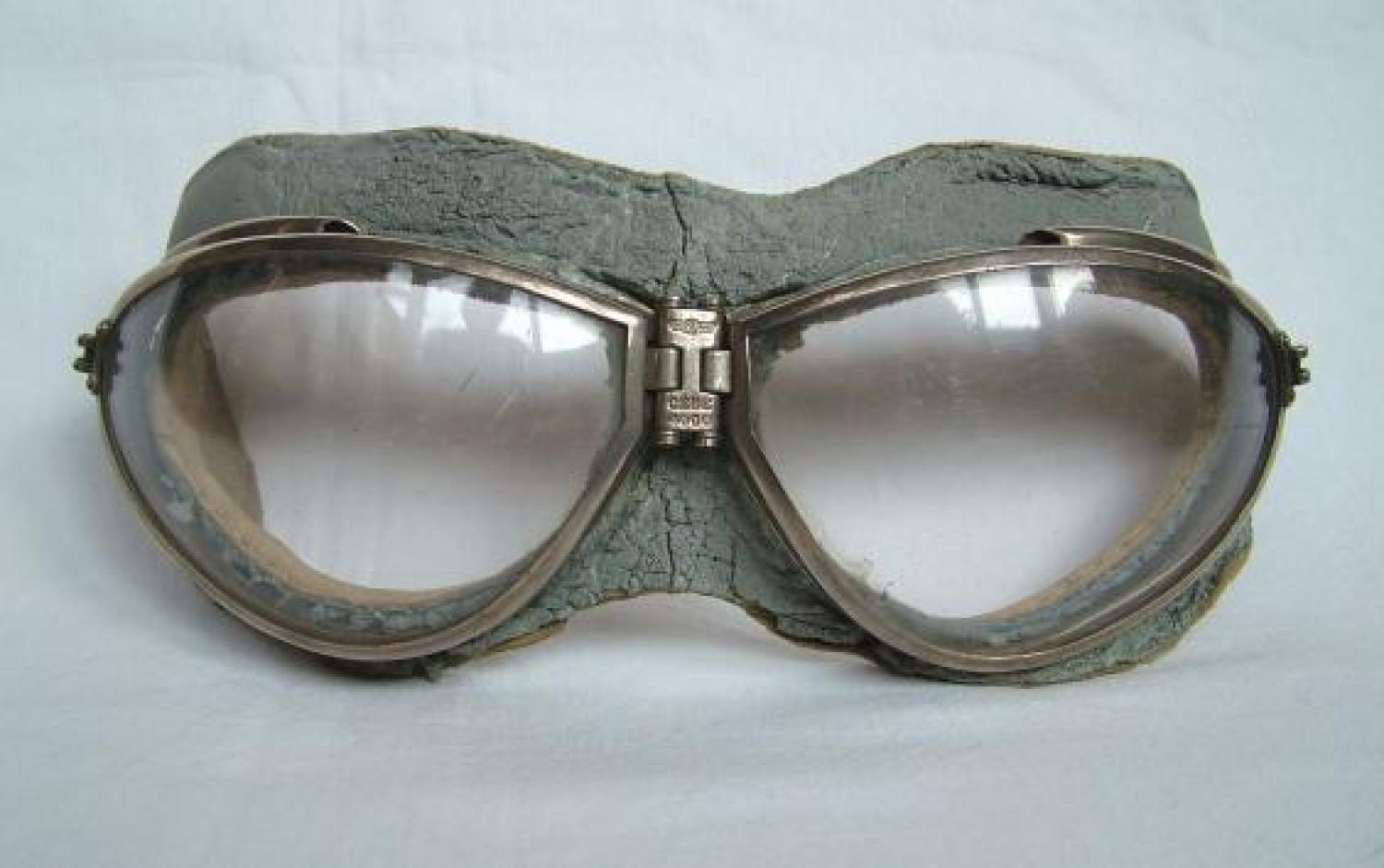 French L'Armee de L'Air Cebe Flying Goggles