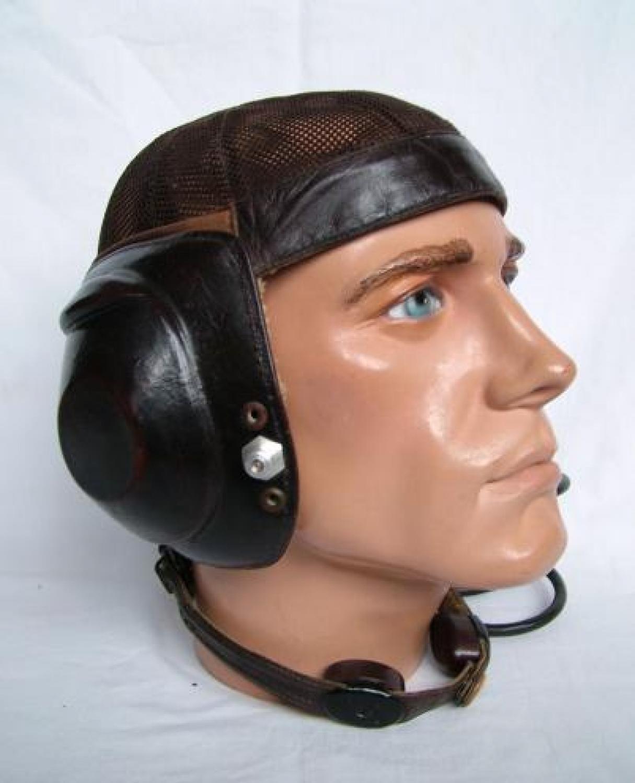 Luftwaffe LKpN101 Netzkopfhaube Flying Helmet