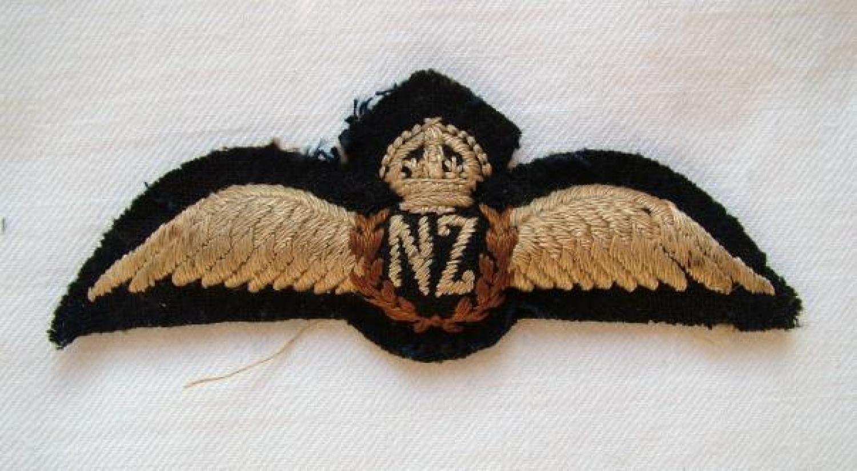 R.N.Z.A.F. Pilot Wing