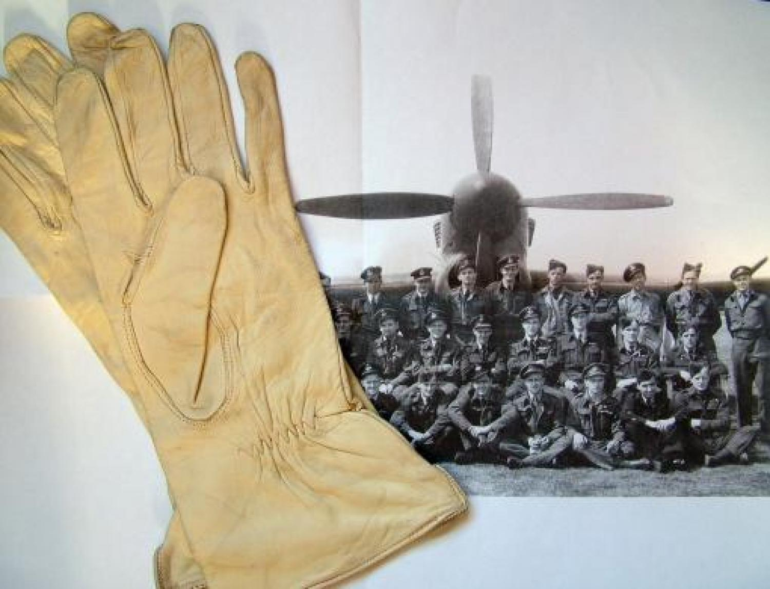 RAF Cape Leather Flying Gloves, History