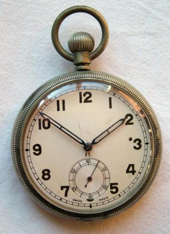 RAF 'Observer's' Pocket Watch