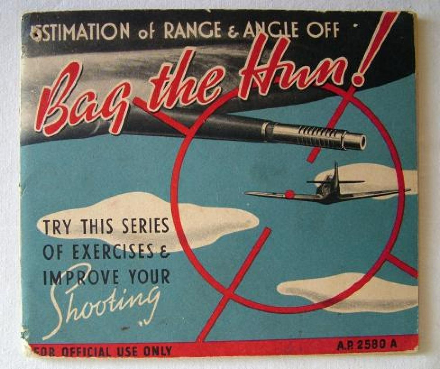 Air Ministry Publication - 'Bag The Hun!'