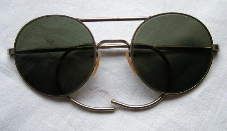 RAF Type G Sunglasses, Cased