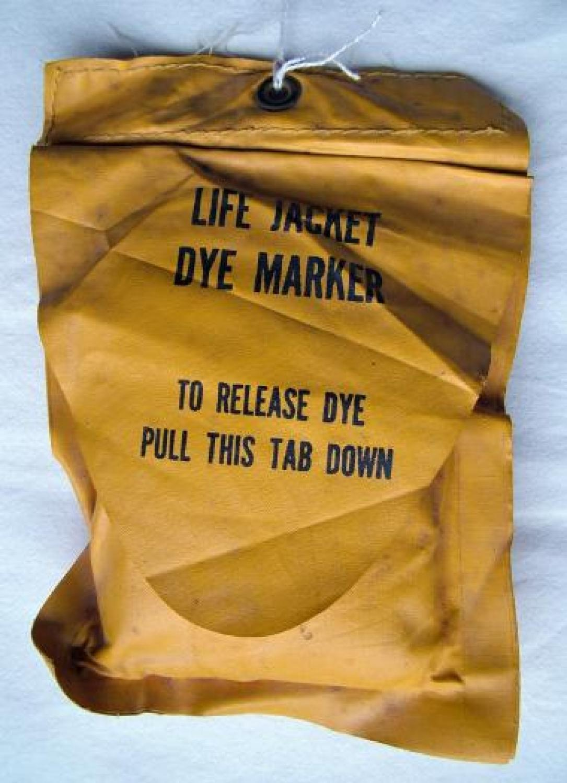 USAAF Lifevest Dye Marker Pack