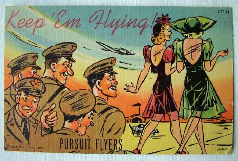 U.S.A.A.F. Postcard