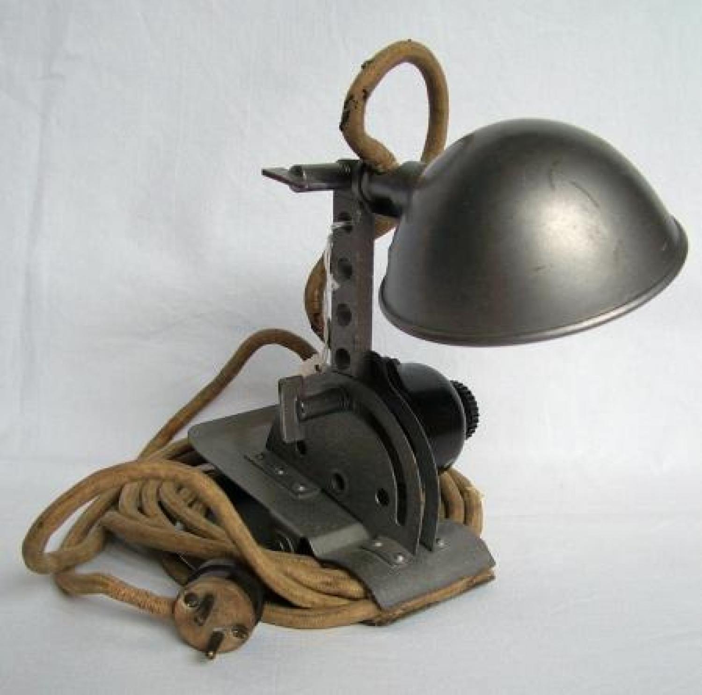 RAF Navigators' Chartboard Lamp
