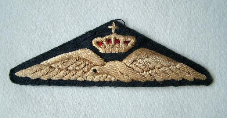 Greek Air Force Pilot Wing